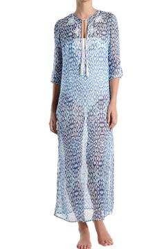 Marie France Van Damme Embroidered Long Caftan - Product List Image