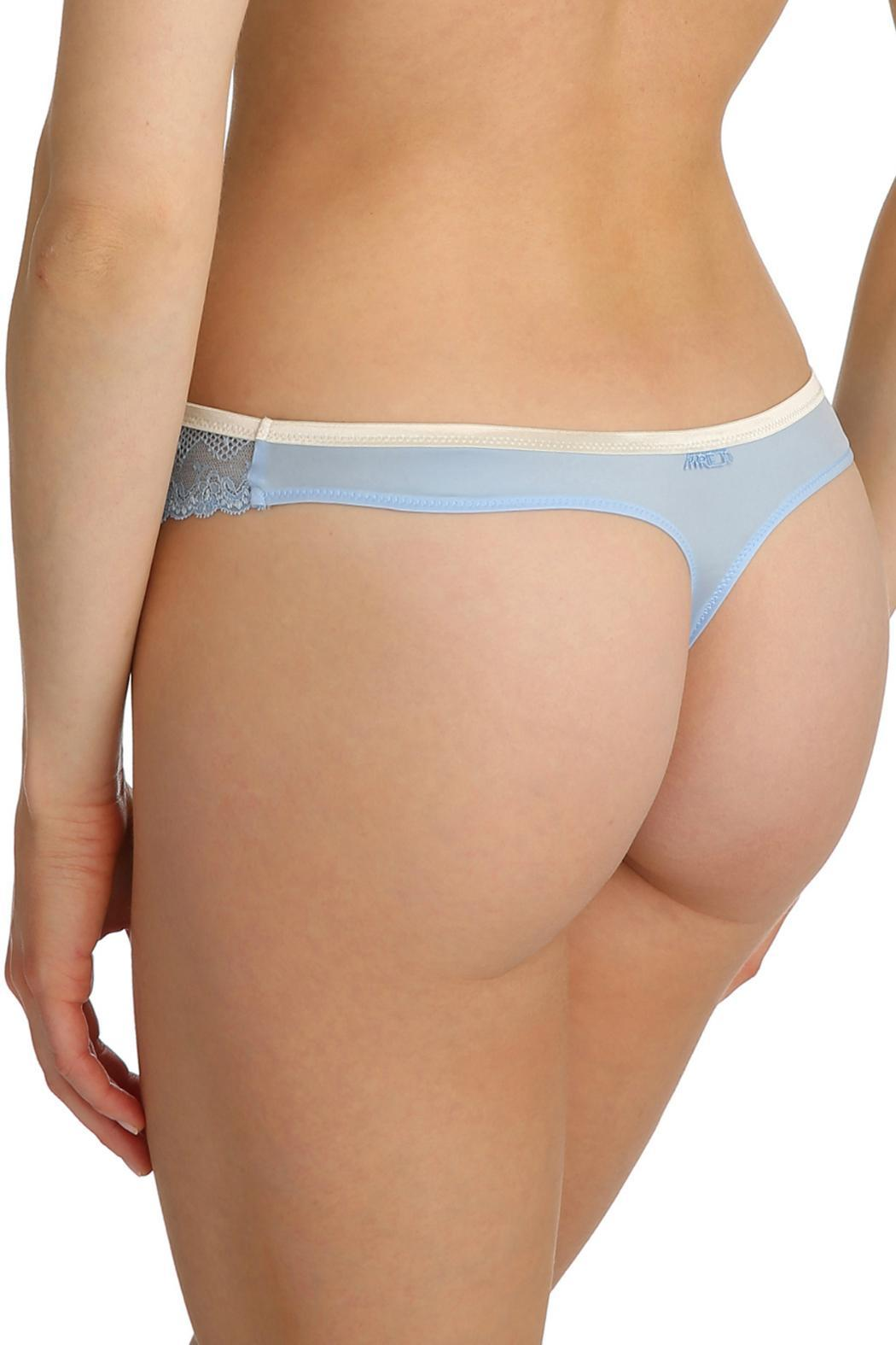 Marie Jo Lace Thong - Side Cropped Image