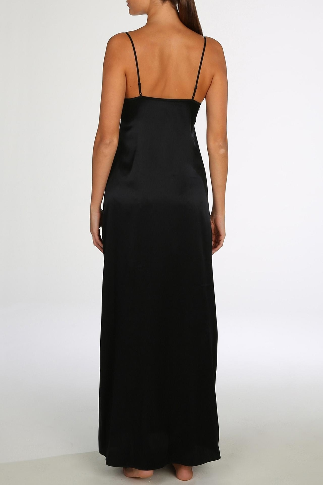 Marie Jo Precious Silk Gown - Side Cropped Image