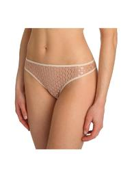 Marie Jo L'aventure Thong With Lace - Front cropped