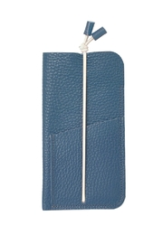 Marieke Jacobs Leather Wallet - Front full body
