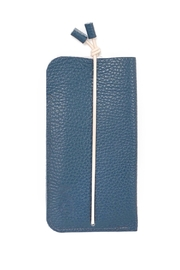 Marieke Jacobs Leather Wallet - Front cropped