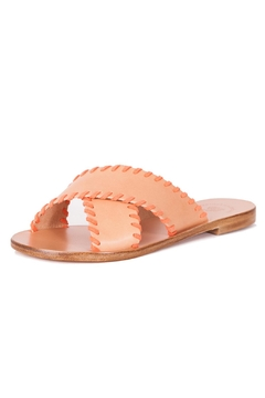 marietta's fantasy Peach Flat Sandals - Product List Image