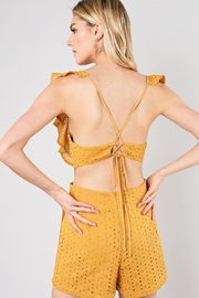 Do & Be Marigold Romper - Side cropped