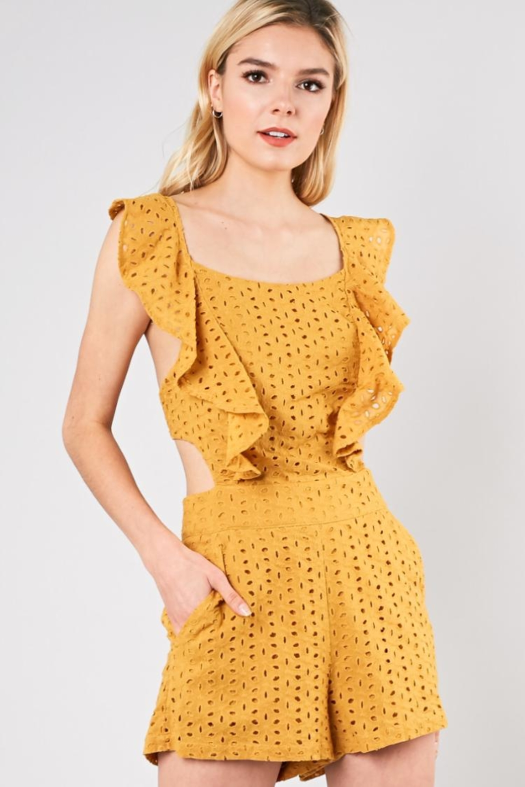 Do & Be Marigold Romper - Main Image