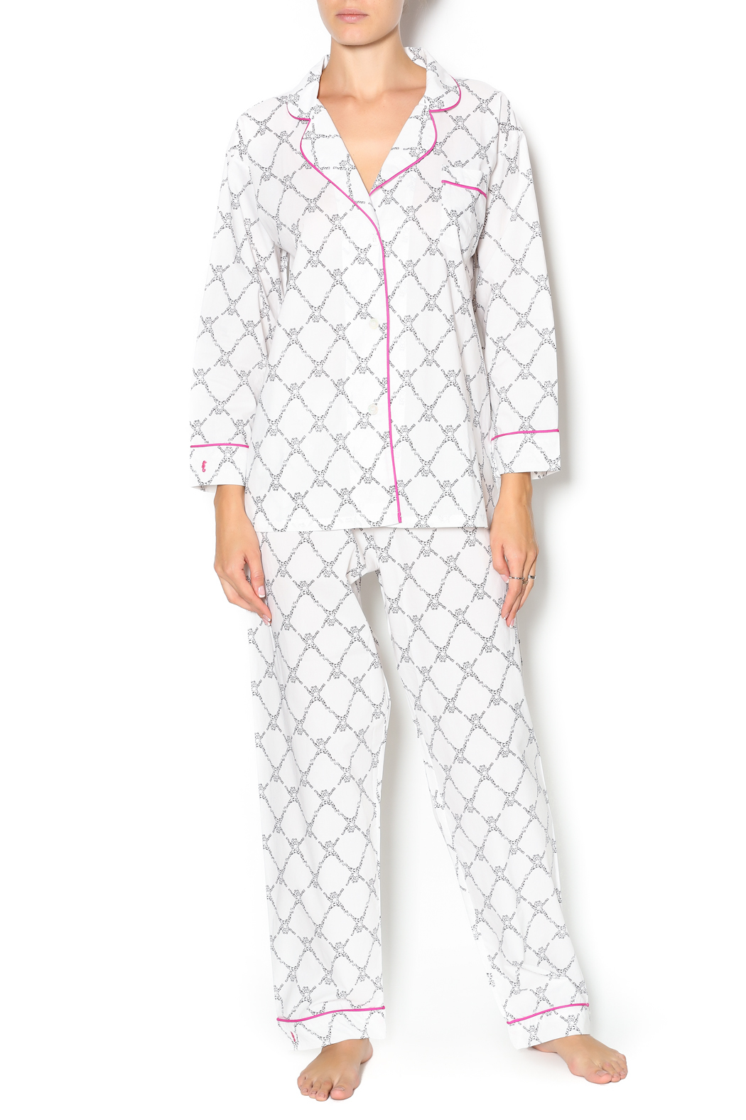 286edfd33584 Marigot Chocolate Frog Pajama Set from Edina by A La Mode Boutique ...