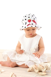 Marika White Strawberries Hat - Front cropped