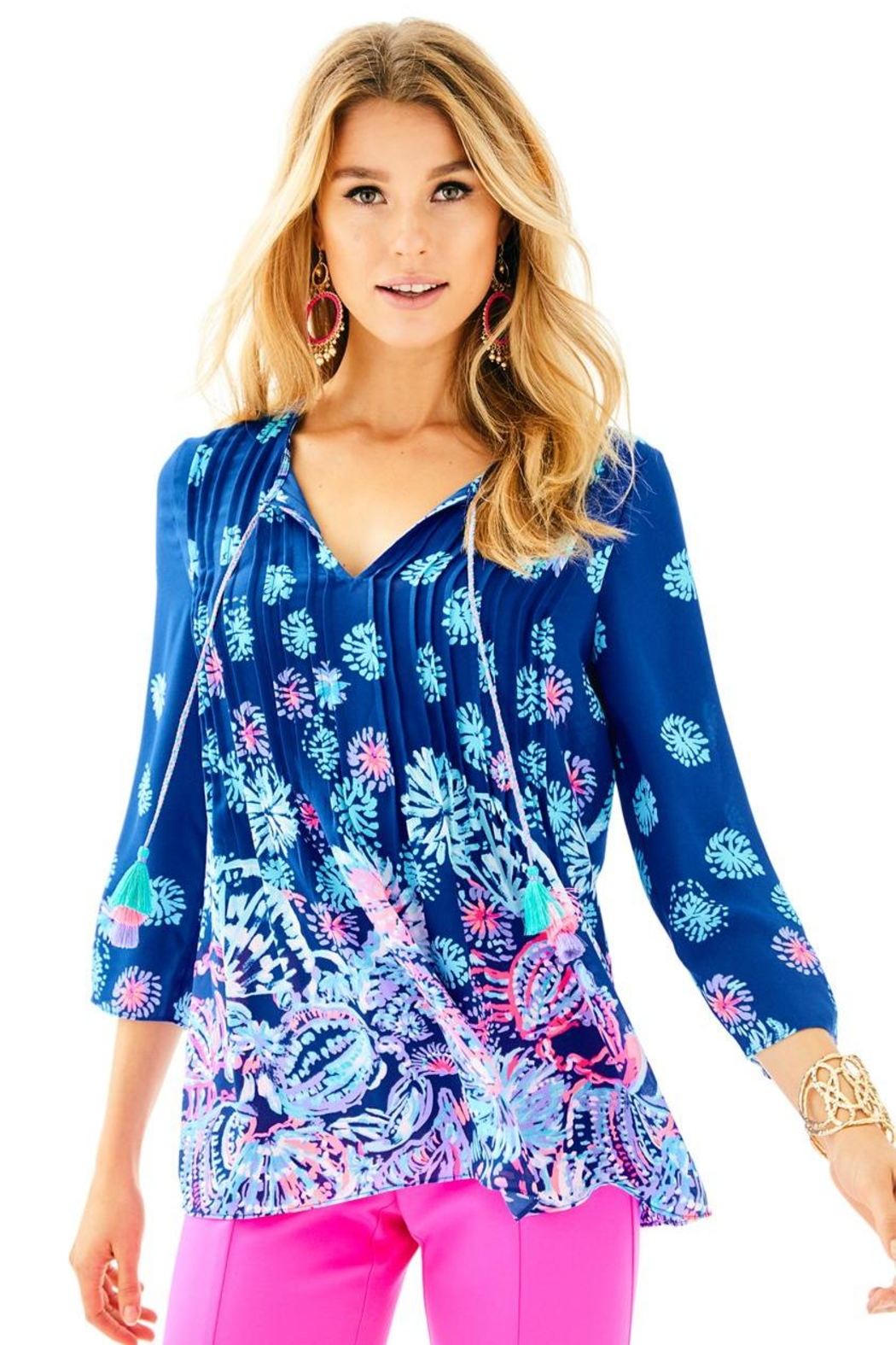Lilly Pulitzer Marilina Tunic Top - Main Image