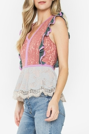 Sugar Lips Marilyn Lace Top - Front full body