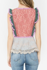 Sugar Lips Marilyn Lace Top - Side cropped