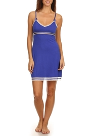 Marilyn Monroe Intimates Blue Nightgown Chemise - Front cropped