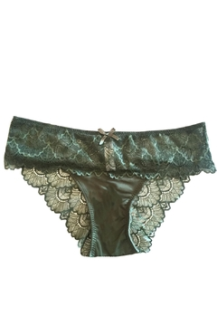 Shoptiques Product: Scalloped Lace Cheeky Panty