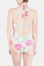 Marina Bouquet Floral Swimsuit - Back cropped