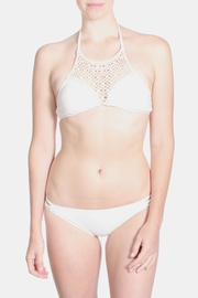 Marina Cream Crochet Bikini - Front full body