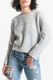 rag poets Marina Crop Knit Sweater - Product Mini Image