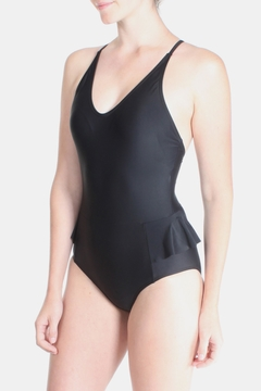 Shoptiques Product: Elegance Black Swimsuit