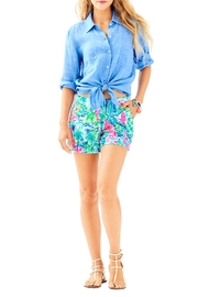 Lilly Pulitzer Marina Knit Short - Back cropped