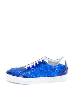 Shoptiques Product: Blue Glitter Sneakers