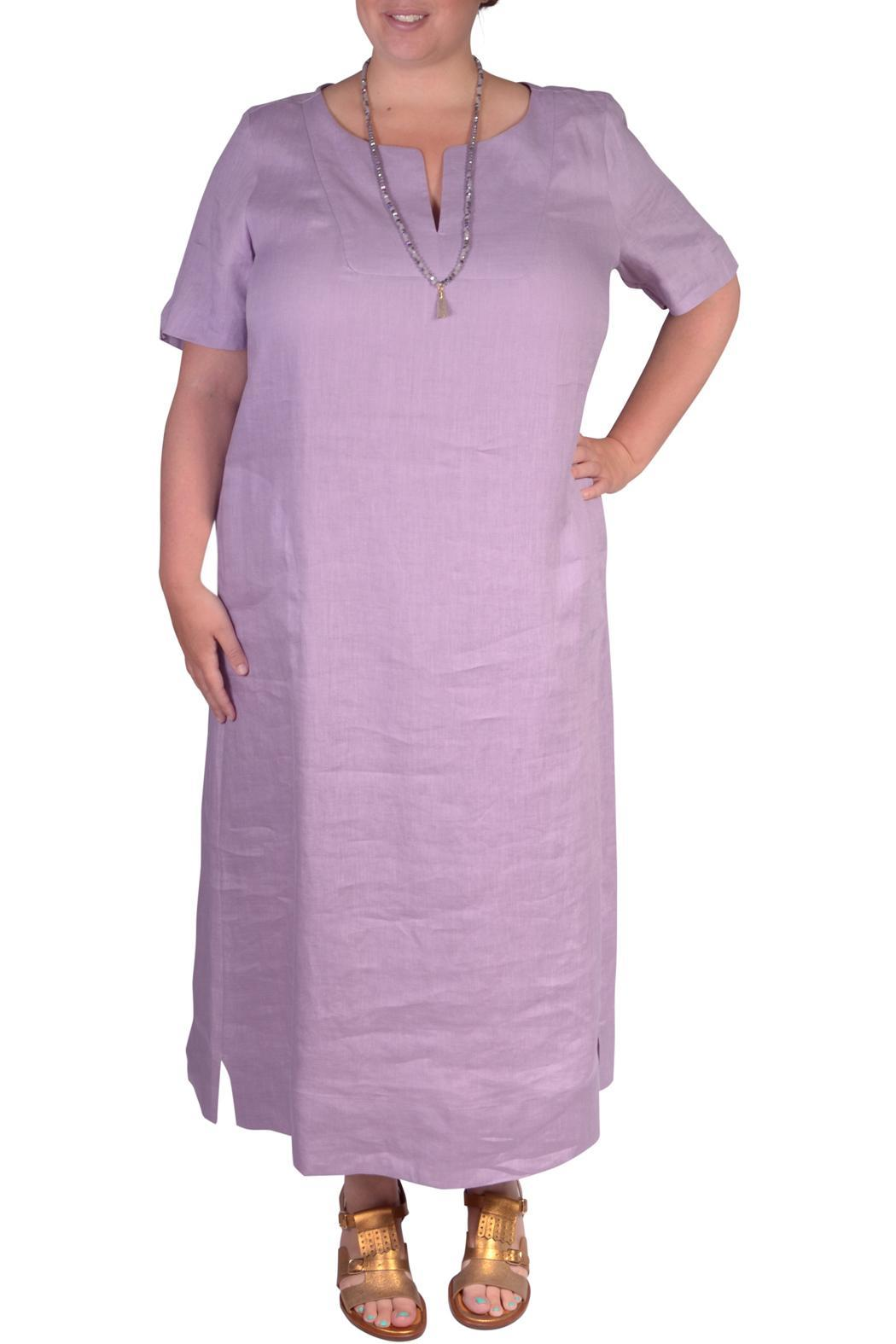Marina Rinaldi Plus-Size Linen Dress from South East England ...