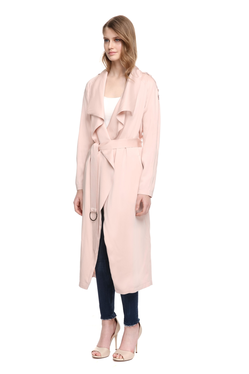 Soia & Kyo Marinella Straight-Fit Coat - Side Cropped Image