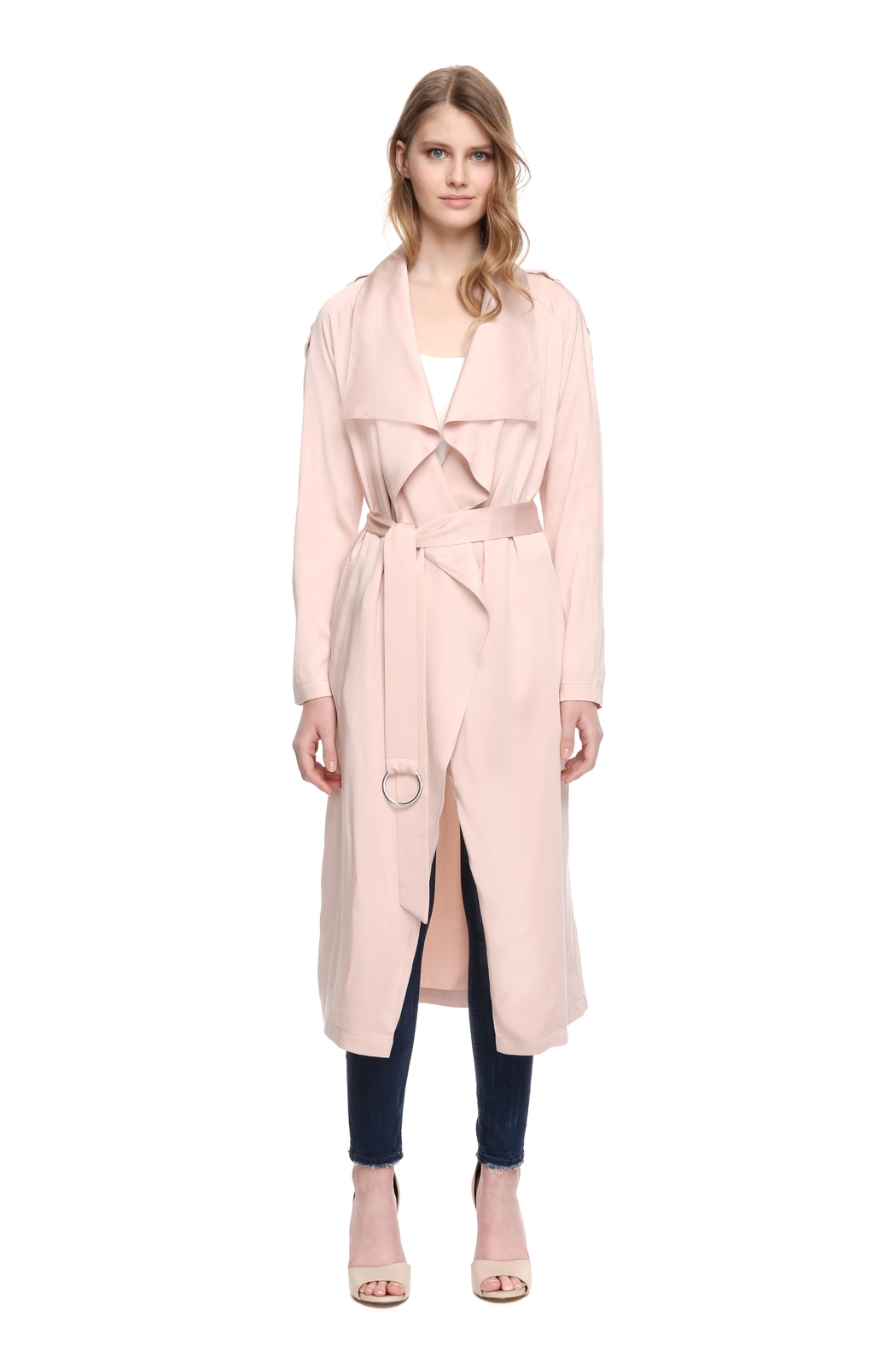 Soia & Kyo Marinella Straight-Fit Coat - Front Full Image