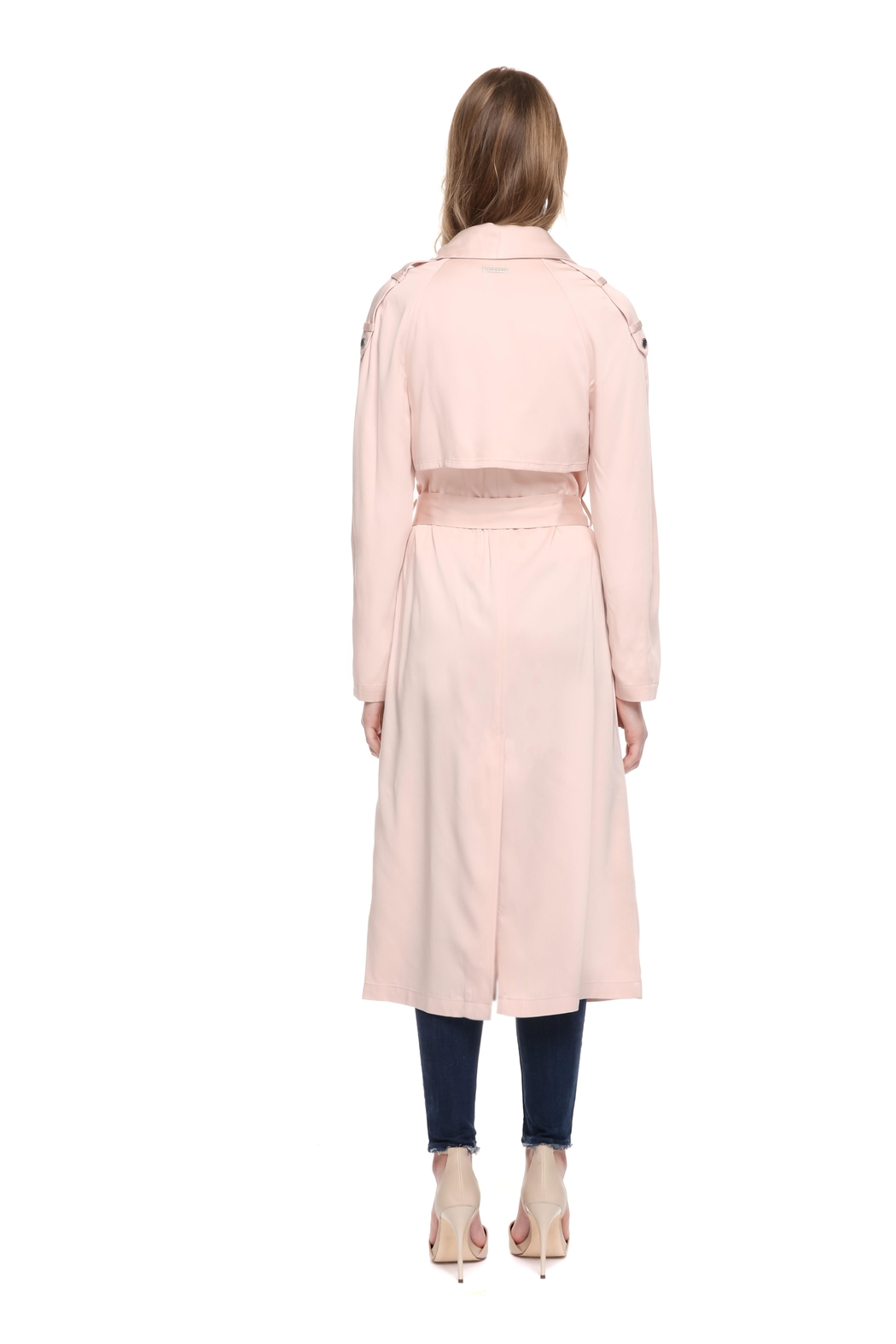 Soia & Kyo Marinella Straight-Fit Coat - Back Cropped Image