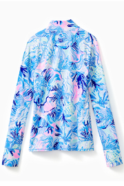 Lilly Pulitzer Marion Sunguard Luxletic UPF 50+ - Front full body