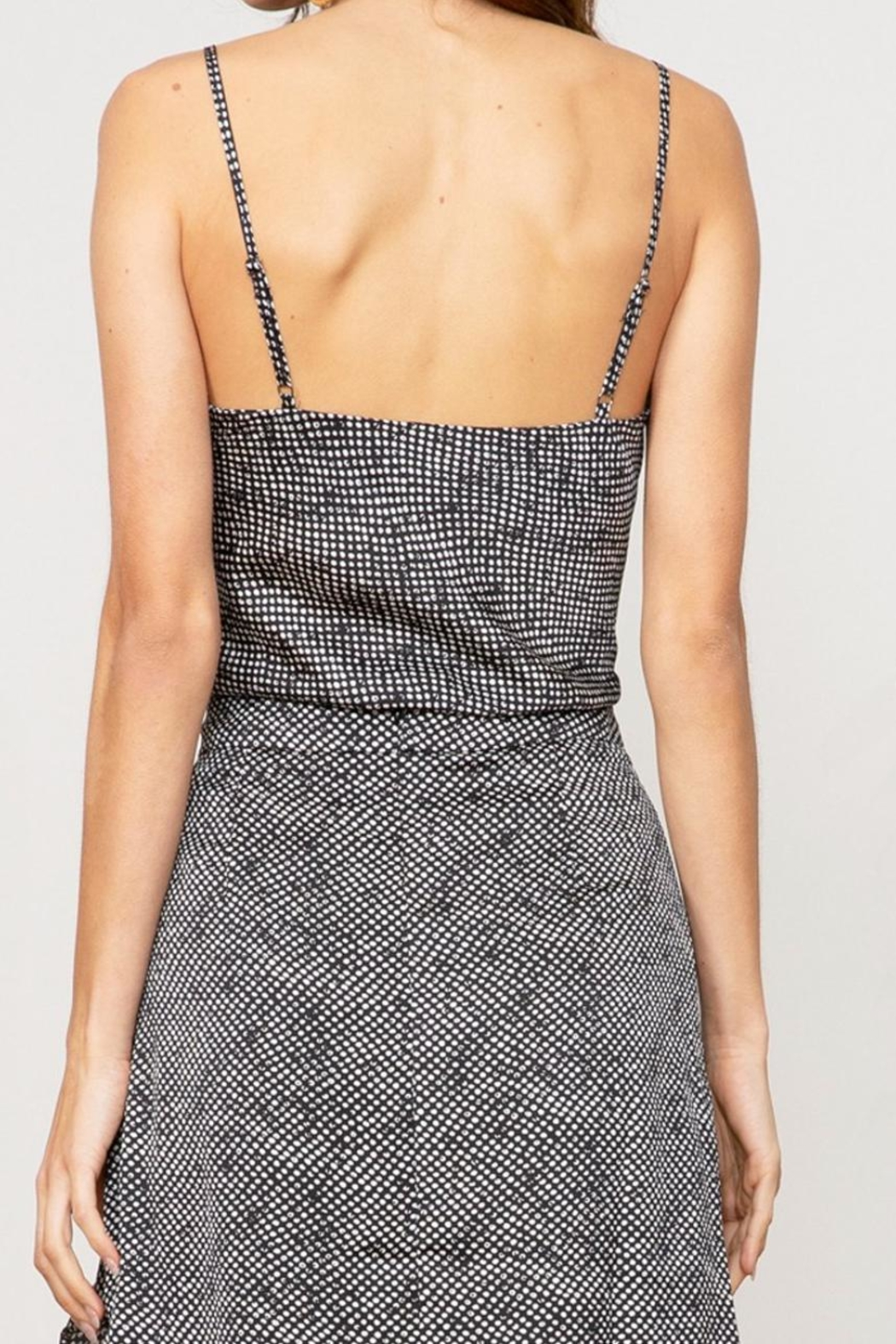 Lucy Paris Marion Polka Top - Side Cropped Image