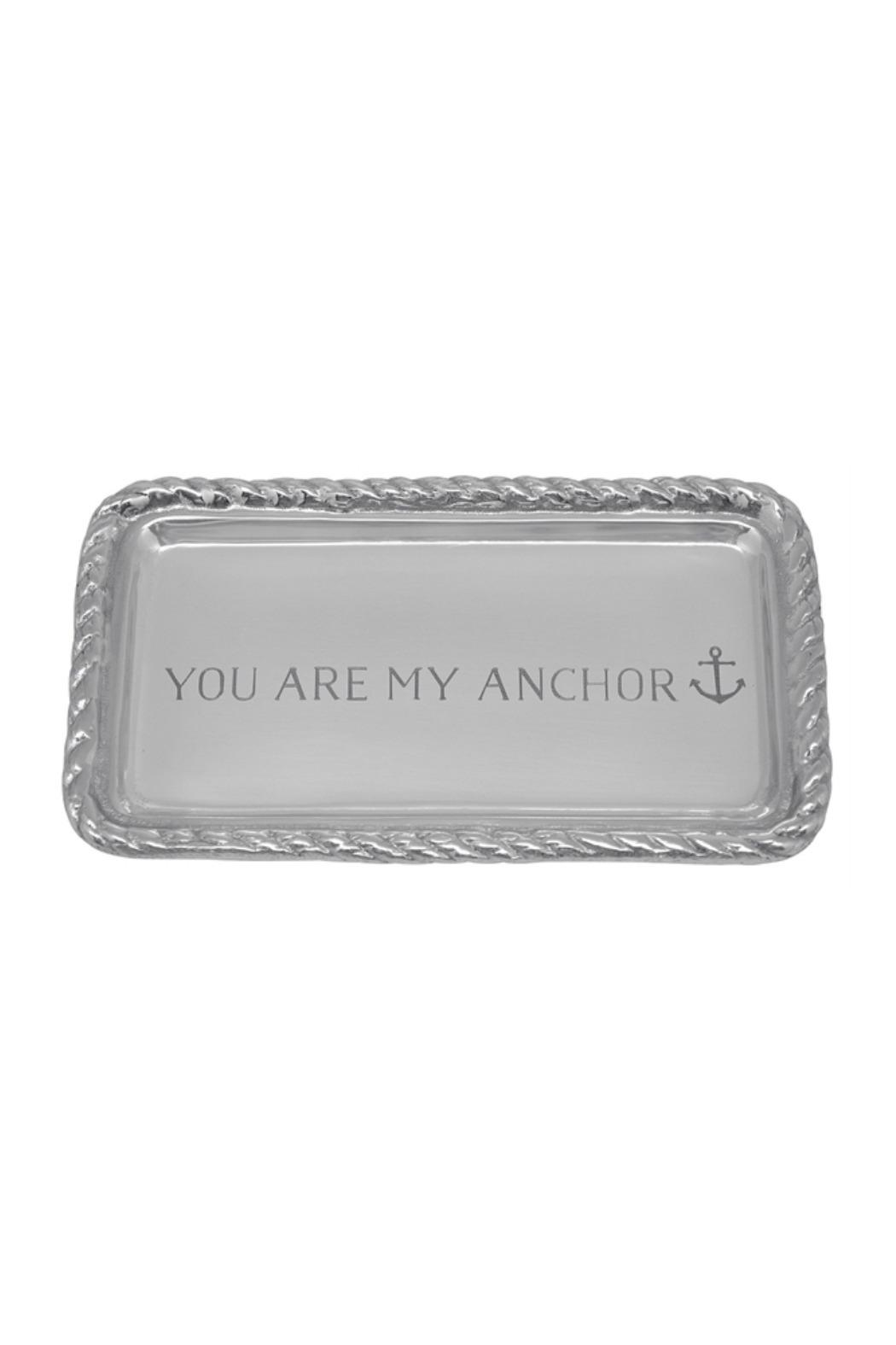 Mariposa Anchor Rope Tray - Main Image