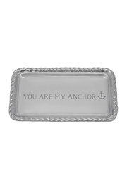 Mariposa Anchor Rope Tray - Front cropped