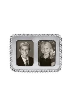 Shoptiques Product: Beaded 2x3 Double Frame