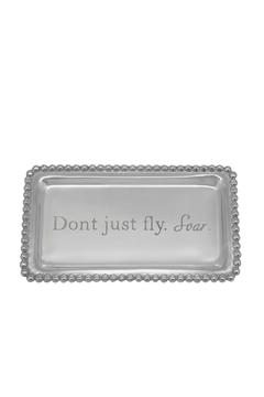 Mariposa Beaded Statement Tray - Alternate List Image