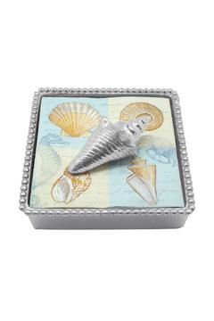 Mariposa Conch Napkin Box - Product List Image