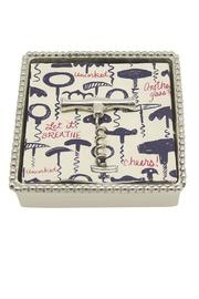 Mariposa Corkscrew Napkin Box - Product Mini Image