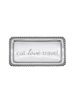 "Shoptiques Product: ""Eat.Love.Travel"" Tray"