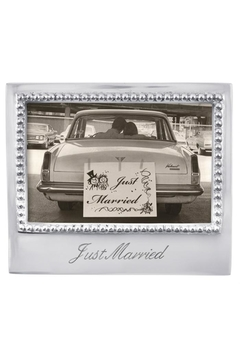 Mariposa Just Married Frame - Product List Image