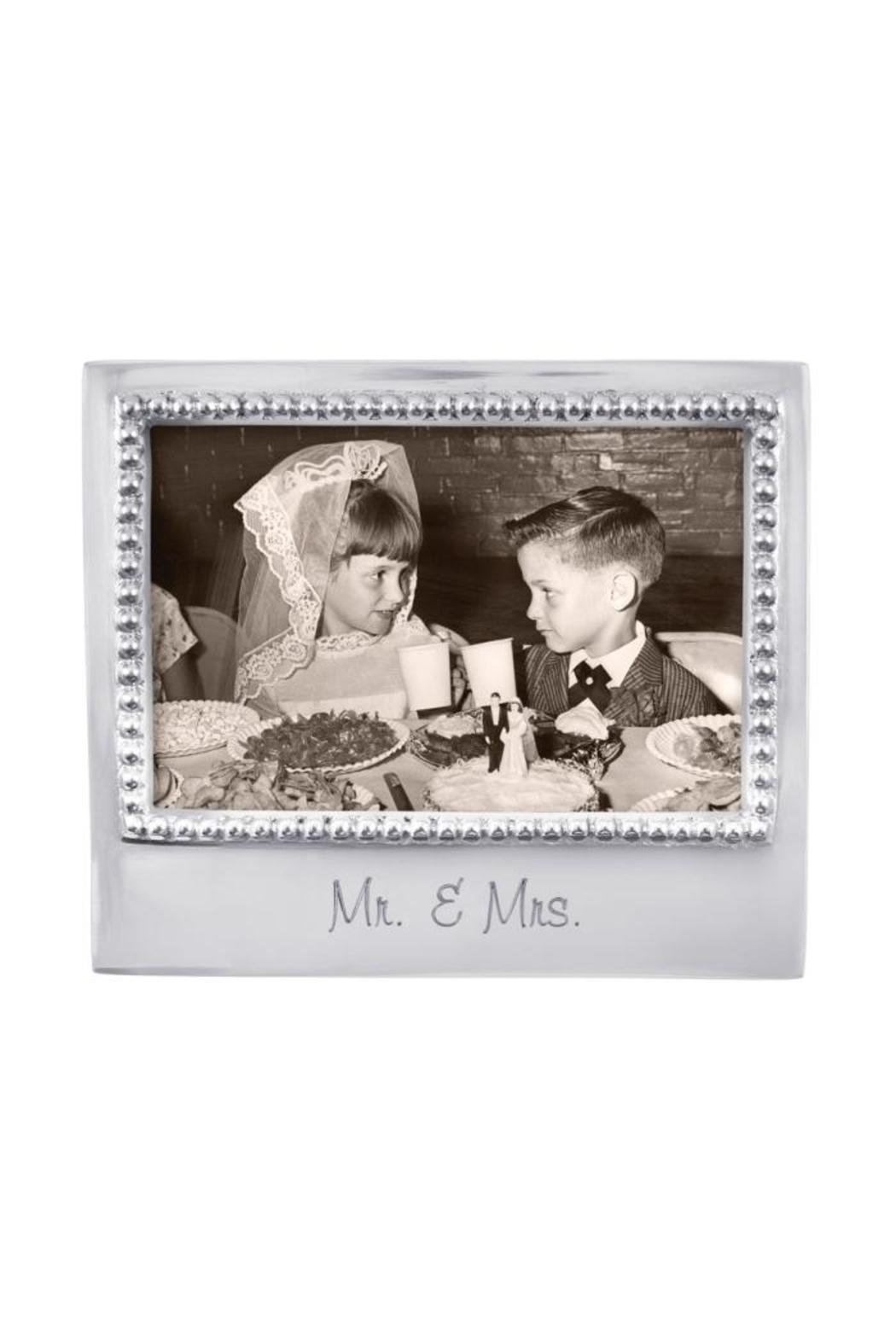 mariposa mr mrs frame front cropped image - Mr And Mrs Picture Frame