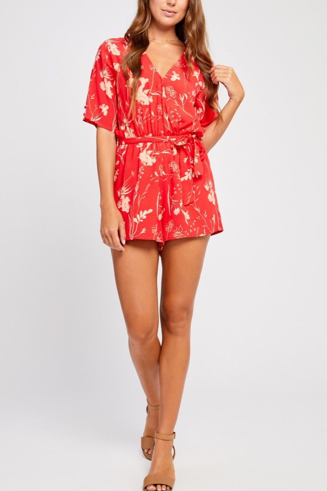 Gentle Fawn Marisol Romper - Front Cropped Image