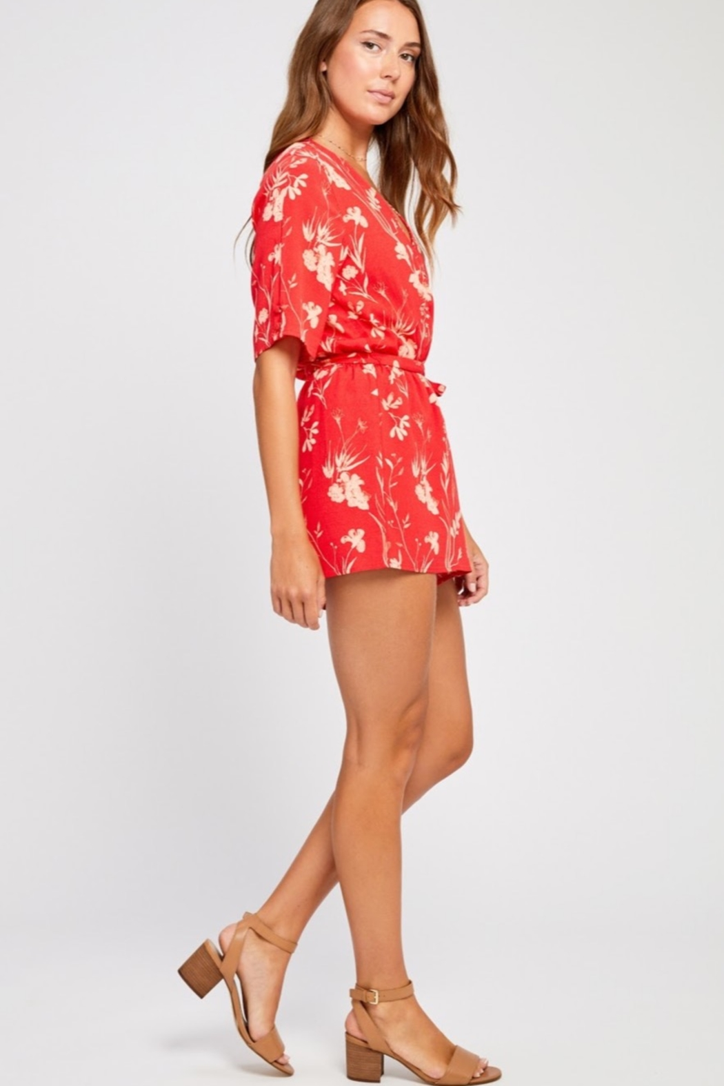 Gentle Fawn Marisol Romper - Front Full Image