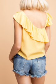 Le Lis Marisol Ruffled Top - Side cropped
