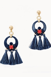 Lilly Pulitzer Maritime Earrings - Front cropped