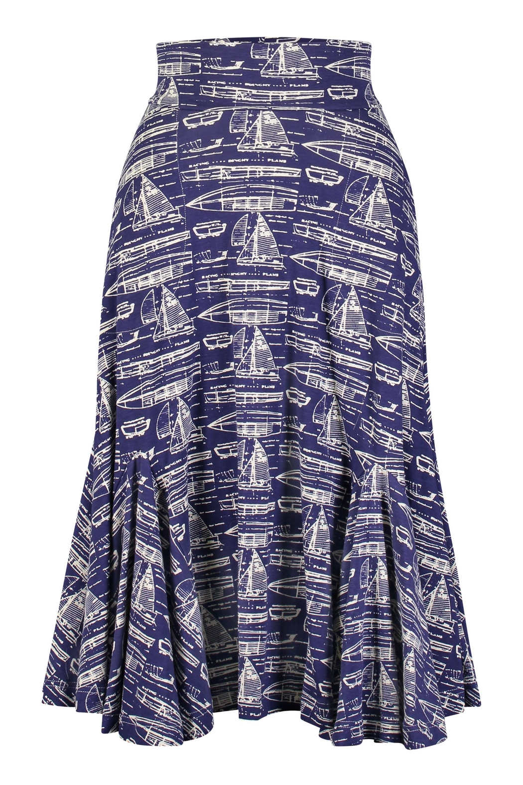 Effie's Heart Maritime Skirt - Front Cropped Image