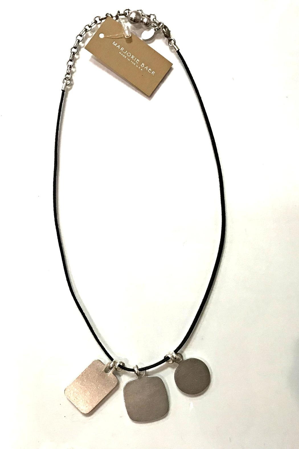 Marjorie Baer Silver Necklace - Main Image