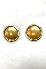 Marjorie Baer Two-Tone Earrings - Front cropped