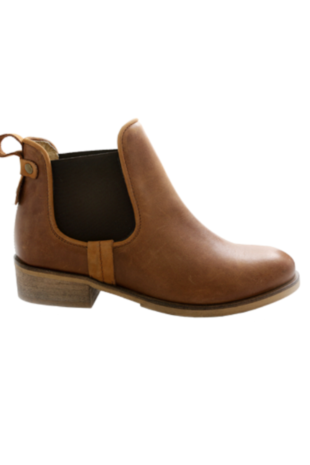 Mark Jenkins Bruno Suede Boot- Tan Leather - Main Image