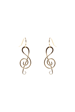 Shoptiques Product: Music Note Earring