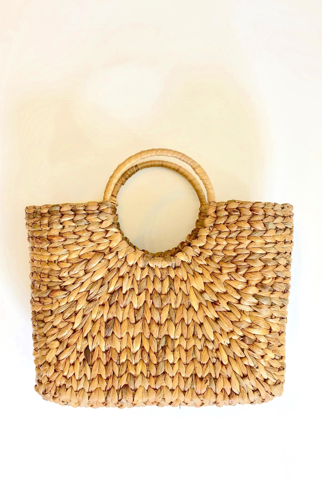 The Winding Road Market Basket Tote - Main Image