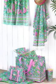 Lilly Pulitzer Market Carryall - Front full body