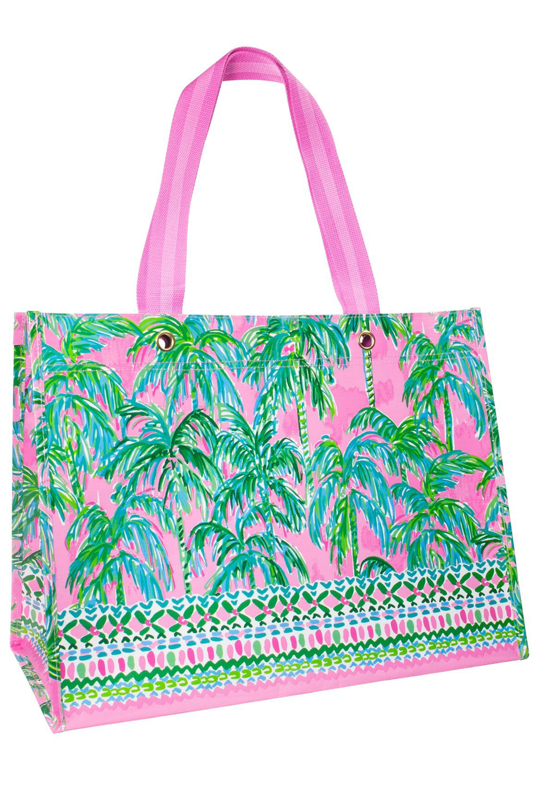 Lilly Pulitzer Market Carryall - Front Cropped Image