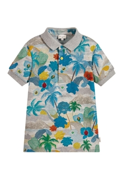 Paul Smith Junior Marl-Grey 'Themis' Polo-T.Shirt - Product List Image